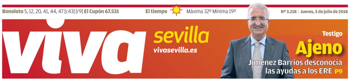 Viva Sevilla 5 de julio de 2018 - ♦Sobrecostes habituales en la obra pública