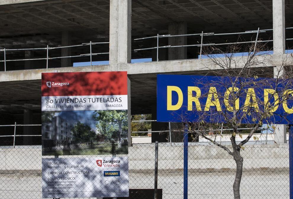 ¿Qué ha sucedido con las 80 viviendas de Las Fuentes en Zaragoza?