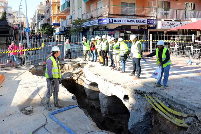 Benidorm se 'apuntala' para las obras públicas