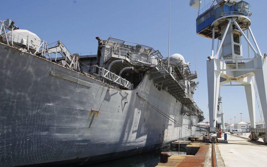 La industria naval en Andalucía y Galicia