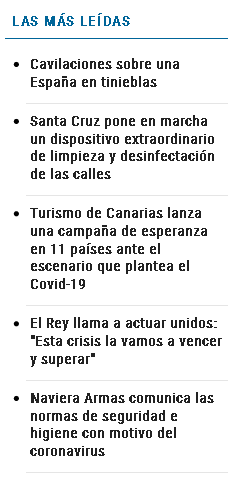 Cavilaciones sobre una España en tinieblas las más leídas 1 - Cavilaciones sobre una España en tinieblas