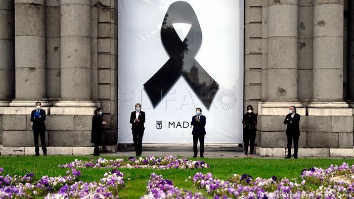 """Réquiem"" mundial pandemia y simbolismo español"