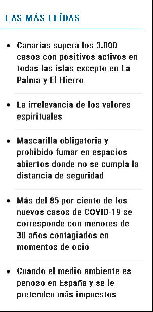 Cuando el medio ambiente es penoso en Espana y se le pretenden mas impuestos las mas leidas - ♦Cuando el medio ambiente es penoso en España y se le pretenden más impuestos