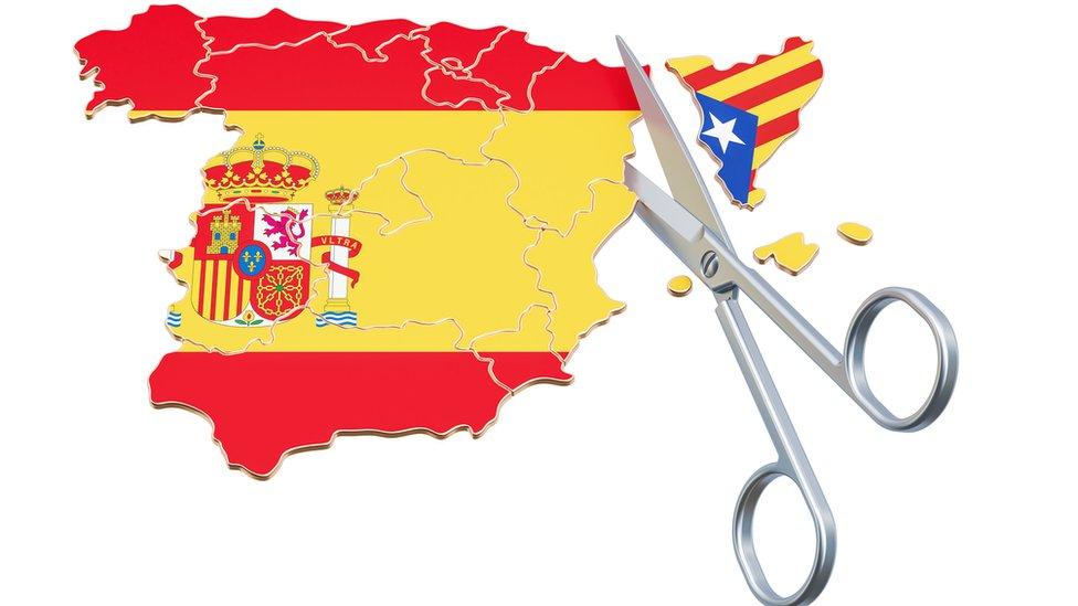 Secesion o independencia Se nos marcha Cataluna - Vertederos